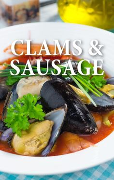 Michael Symon and Clinton Kelly whipped up a special Clams with Spicy Italian Sausage and Peppers recipe on The Chew. http://www.recapo.com/the-chew/the-chew-recipes/chew-michael-symons-clams-italian-sausage-peppers-recipe/