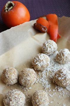 No bake persimmon snow balls