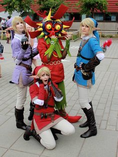 Link Four Swords Cosplay Nerdgasm on Pinterest ...