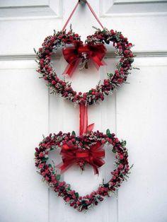 Valentine Wreath  Heart