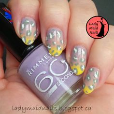 Lady Maid Nails: June Theme Week Challenge