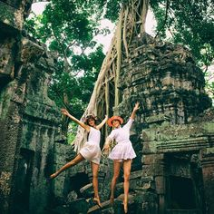 My summer? Oh, I chilled at some ancient Cambodian tombs. How about you?
