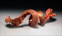 [Ganoksin] Foldforming: Making a Leaf or Ruffle