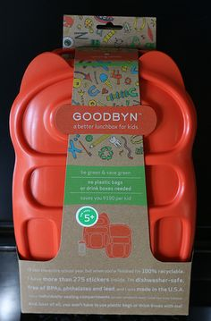 Goodbyn Bento lunch box...Dominick got this for Christmas last year--love!