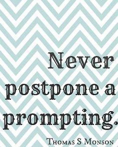 Promptings