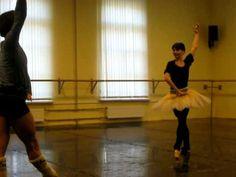 Osipova, Vasiliev - Don Q rehearsal
