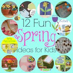 Fun Spring Ideas for Kids!