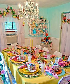 Magical Summer Fairy Table Setting! ❤❦♪♫