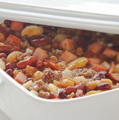 Every potluck, picnic and family gathering calls for Calico Beans, right?