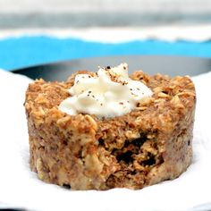 Microwave Oatmeal Muffin