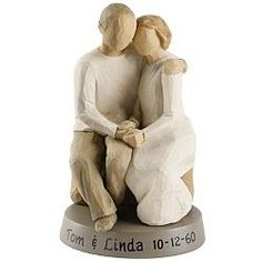 Gift Idea: Sitting Couple Figurine $49