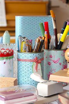 closet office, tin, pretti organ, craft rooms