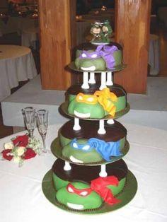 Ninja Turtles Cake!