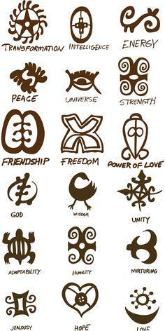 Ancient style symbols vector