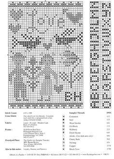 mini cross stitch sampler