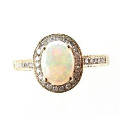 Beautiful opal ring