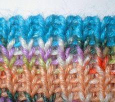 An easier tubular cast on - Stretchy Rib Cast on for Top Down Socks sock, rib caston, knittingcrochet idea, knit idea, knit crochet, stretchi rib, 1x1 rib, stretchi cast, knit tt
