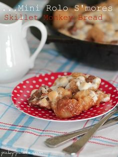 """Rolo S""""mores Monkey Bread"""