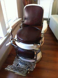 1920s Koken Barber Chair