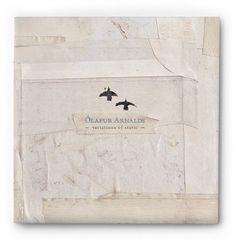 Textured album cover