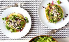 Simple Corn Tostada Salad