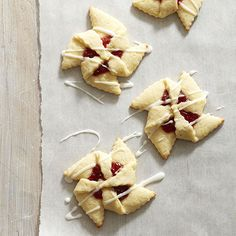 Get a head start on updating your holiday cookie recipes! Try these beautiful Cherry Pinwheels. More cherry desserts: http://www.bhg.com/recipes/desserts/fruit/cherry-desserts/?socsrc=bhgpin090713cherrypinwheelcookies#page=2