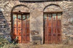 Rusty doors...