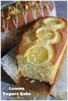 lemon yogurt cake...dessert vs breakfast....hmmmmmmm???  BOTH!!