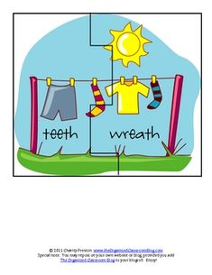 This pack contains 5 activities to use with the book Mrs. McNosh Hangs Up Her Wash.  Feel free to use it, pass it on, or post on your blog!  Blogge...