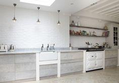 Blakes London, Scandi Renovation Kitchen, White Aga | Remodelista