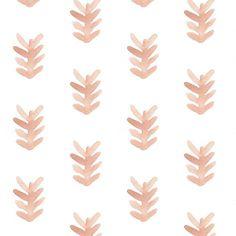 succulent print on white // wiksten spoonflower