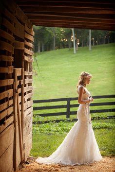 Beautiful, country wedding