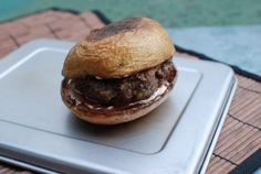 Potato Skin Burger - The Food in my Beard