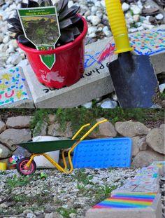 play garden, kids garden, children's garden