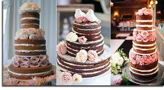 "3 more ""Naked Cakes"""