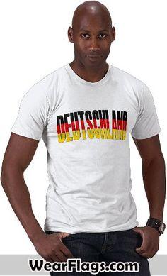 Deutschland (#German) Flag T-shirt, $22.95 #Germany