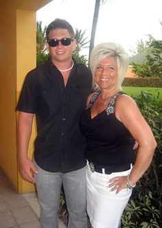 Theresa Caputo and Larry Caputo Jr...