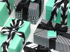 ebony & aqua wrapping...love