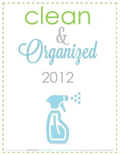 CLEAN MAMA: Clean + Organized - FREE Cleaning Printable Roundup