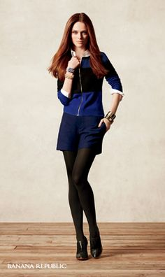 Cobalt Blue Trend Tip: Blue, meet black! These two strong colors get along swimmingly.