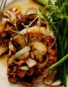 Paleo Pork Chops with Mushrooms
