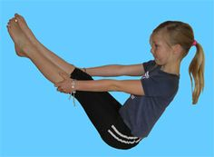 Short yoga stories using poses