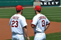 David and Matt at Spring Training