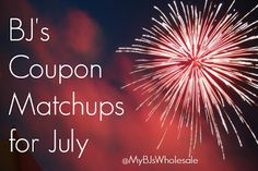 Great deals for the month of July! #Coupons