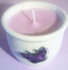 Lavender Vanilla Spa Candle  | UniqueCandleBoutique - Candles on ArtFire