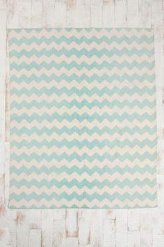 this would be great under the conference table   seafoam chevron rug at Urban