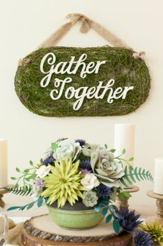 Gather Together Sign. Make It Now in Cricut Design Space