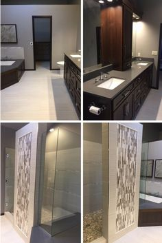 For this master bath