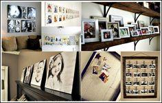 Photo display ideas...