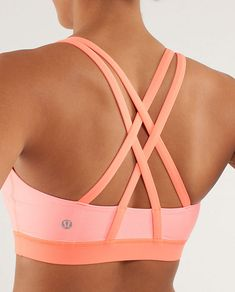 "Energy Bra for a little ""support"" and love @lululemon athletica"